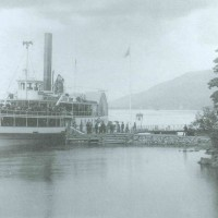 The Horicon at the Huletts Dock, c. 1880, S. R. Stoddard