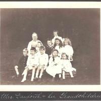 Mrs. Danforth and Her Grandchildren, c. 1910