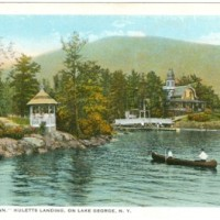 Lakeside Inn, Huletts Landing Lake George