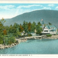 Lakeside Inn, Huletts Landing, Lake George, N. Y.
